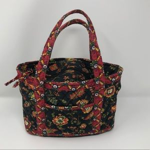 Floral Quilted Lunch Tote